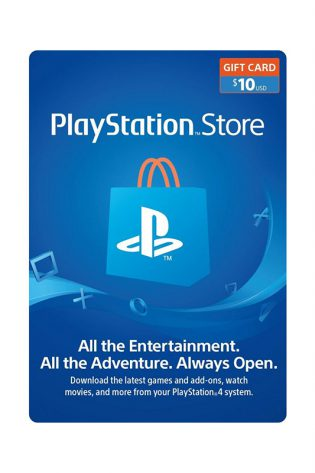 PlayStation Store Gift Card $10