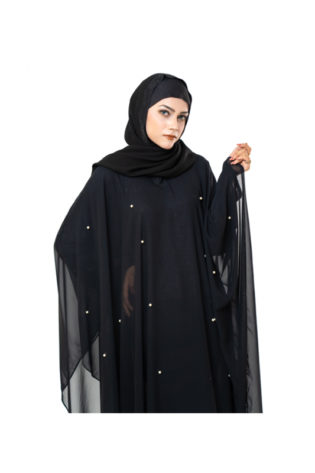 High Quality and Stylish PEARL BUTTERFLY ABAYA